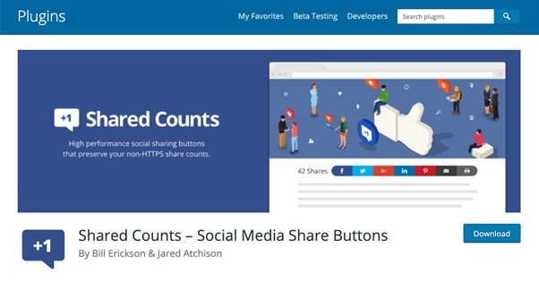 Shared Counts Plugin