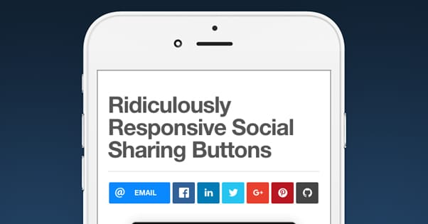 Test Social Buttons Mobile