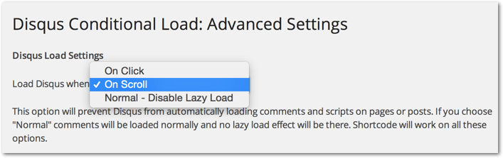 Lazy Load on Scroll