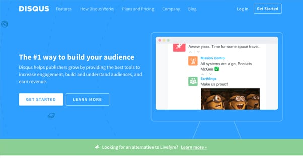 Disqus Homepage