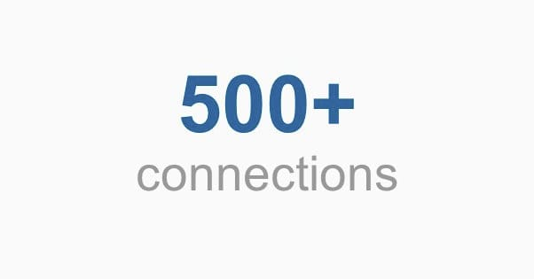 LinkedIn 500 Connections