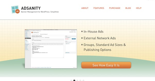 AdSanity Website