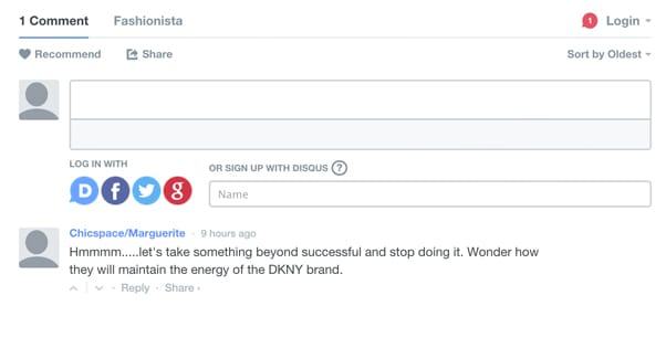 Example Disqus Comments