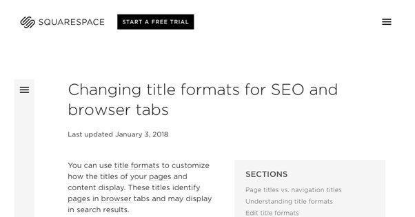 Changing Titles on Blogs