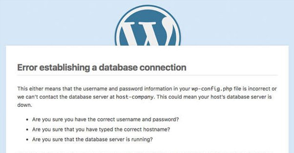 "Fixing the WordPress ""Establishing a Database Connection"" Error"