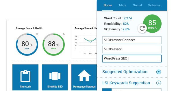 WordPress SEO plugin - SEOPressor