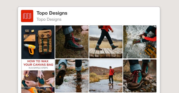 Pinterest Board Widget