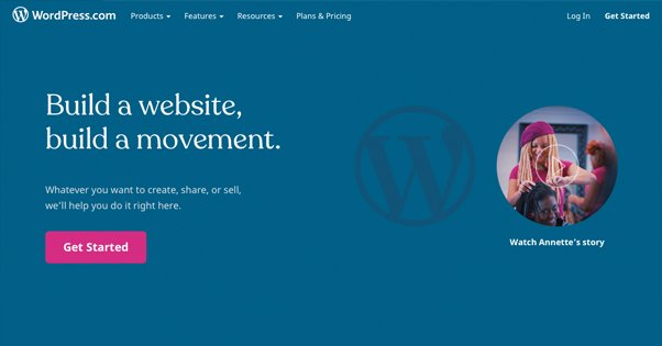 Wordpress.com Site