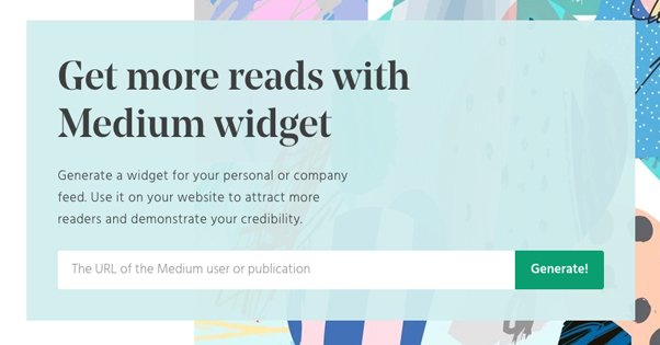 How to Embed Medium Posts and Feeds on Your Site