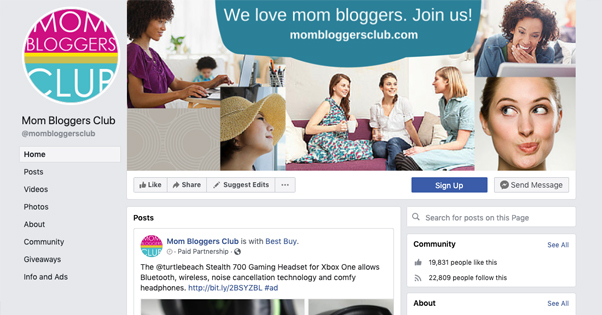 Mommy Blogger Group