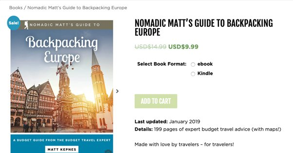 Example Travel Ebook